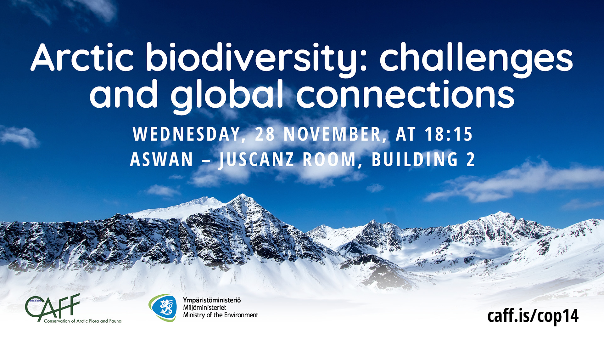 Arctic biodiversity challenges and global connections