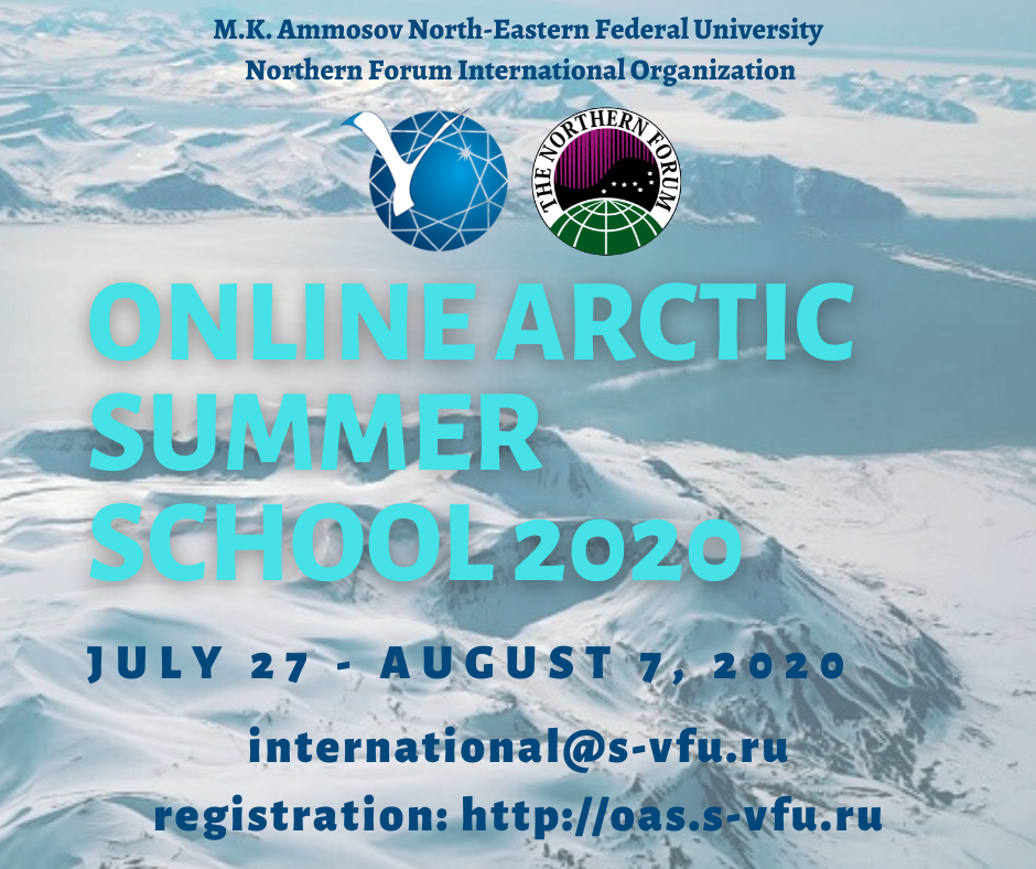 Online arctic summer school 2020