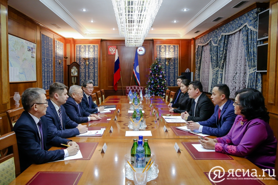 Sakha Republic Mongolia meeting