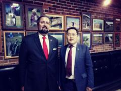 Mikhail Pogodaev met with the US Consul General