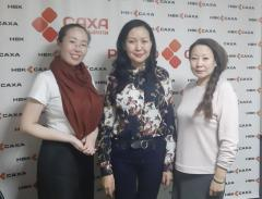 Interview NBC Sakha with the acting Executive Director of the Northern Forum Daryana Maхimova