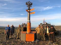 Крайняя восточная точка Европы обрела свой памятный знак