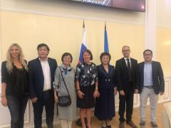 Northern Forum meeting with Finland delegation
