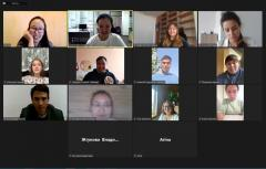 Northern Youth Forum online meeting