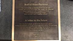 Iceland's Okjokull glacier commemorated with plaque