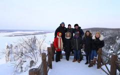 Arctic Winter School 2020 was held in Yakutsk, Russia