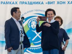 Natalya Komarova awarded Walter Hickel medal