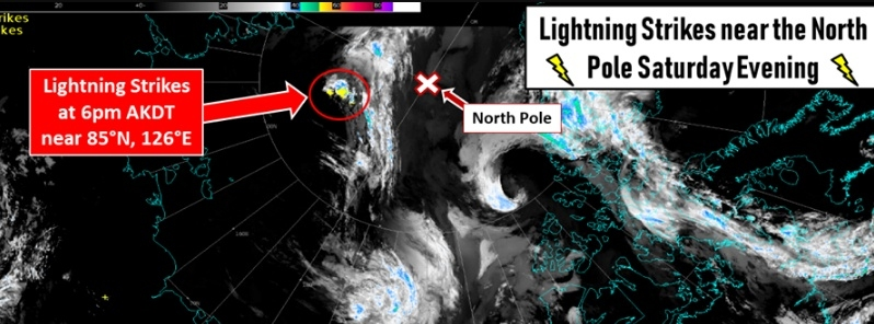 north pole lightning detection august 10 2019 f